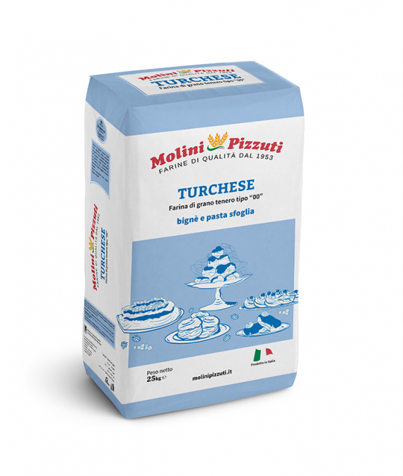 Turchese flour type 00 for pastry