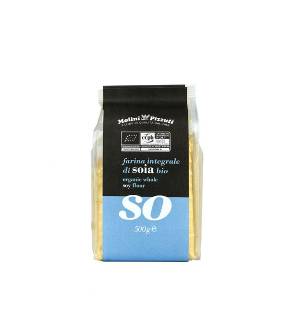 Organic whole soy flour